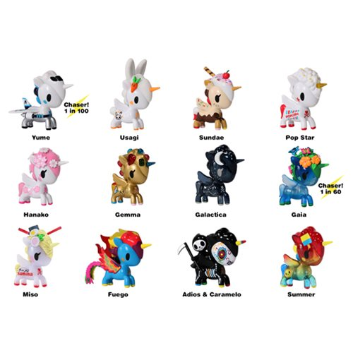 Tokidoki Unicorno Series 6 Vinyl Figure Display Box