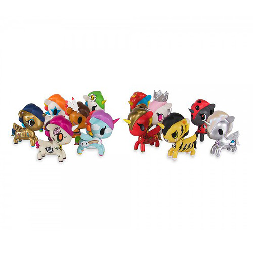 Tokidoki Unicornos Series 3 Vinyl Figure 4-Pack