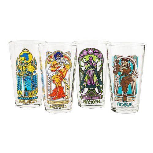 Adventurer Nouveau Pint Glass 4-Pack