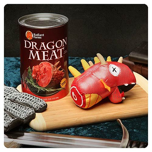 Canned Dragon Meat Plush