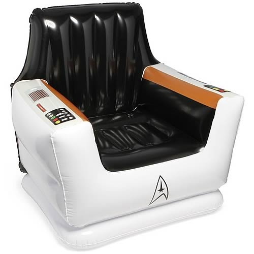Star Trek Inflatable Captain's Kids Chair