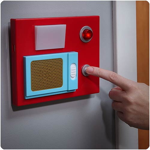 Star trek electronic motion sensitive door chime think for Star home designs products