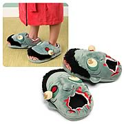 Zombie Plush Slippers