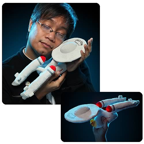 Star Trek Original Series Enterprise Plush