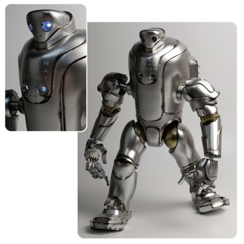 Evenfall TOTEM Alpha Contact Silver Thug 16-Inch Figure