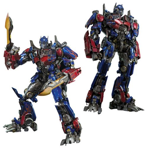 Transformers Movie Optimus Prime Premium Scale Figure