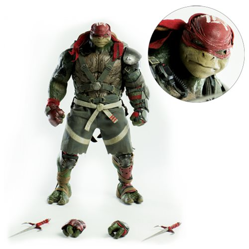 TMNT: Out of the Shadows Raphael 1:6 Scale Action Figure