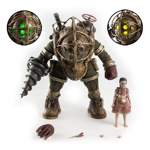 Bioshock Big Daddy and Little Sister 1:6 Scale Figure 2-Pack