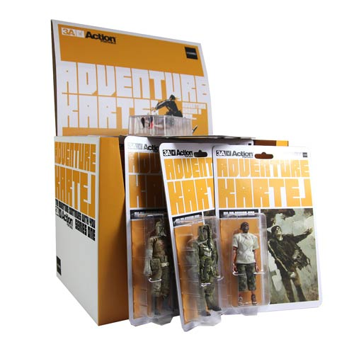 Adventure Kartel Series 1 6-Inch Action Figure Set