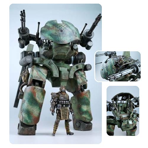 Lost Planet 2 Vital Suit GTF-11 Drio with Mercenary Figure