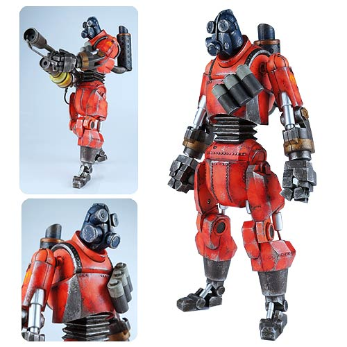 Team Fortress 2 Red Robot Pyro Action Figure