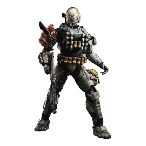Halo Reach Emile-A239 Spartan-III 1:6 Scale Action Figure