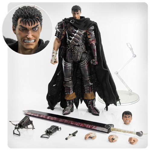 Berserk Guts 1 6 Scale Action Figure Threezero Berserk