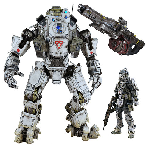 Titanfall Atlas 1:12 Scale Action Figure