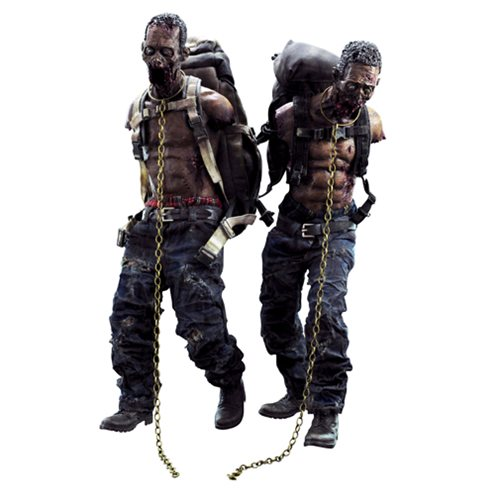 Walking Dead Michonne's Pet Walkers 2-Pack Set