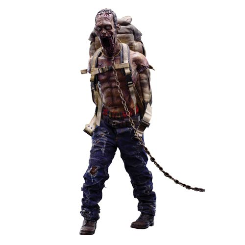 The Walking Dead Michonne's Red Pet Zombie Action Figure