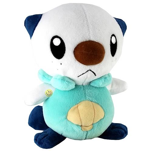 Pokemon Best Wishes 8-Inch Oshawott Plush