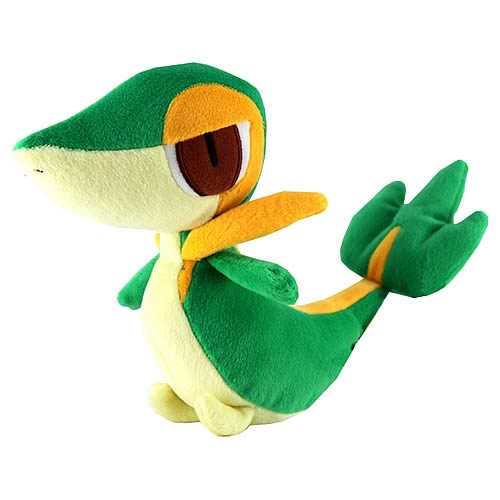 Pokemon Best Wishes 8-Inch Snivy Plush