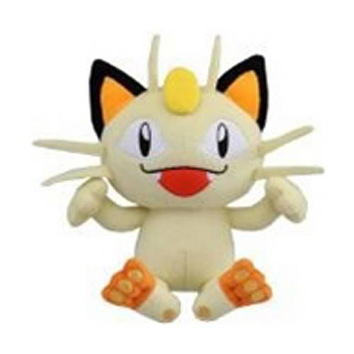 Pokemon Best Wishes 8-Inch Meowth Plush
