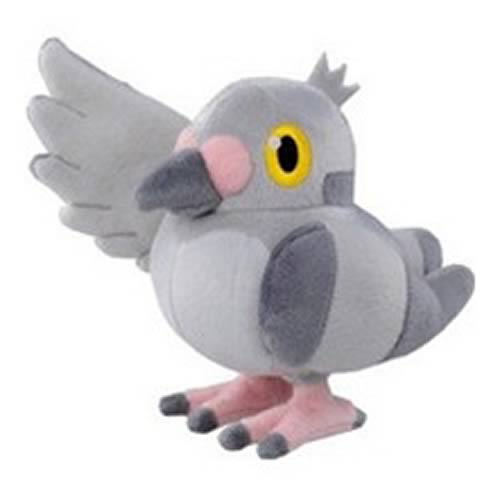 Pokemon Best Wishes 6-Inch Pidove Plush