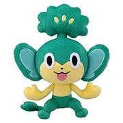 Pokemon Best Wishes 8-Inch Pansage Plush