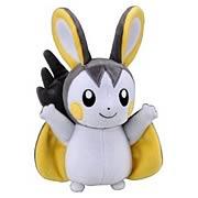 Pokemon Best Wishes 6-Inch Emolga Plush