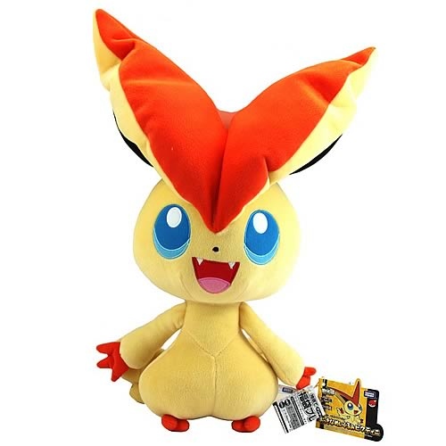 Pokemon Best Wishes 18-Inch Victini Plush