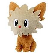 Pokemon Best Wishes 6-Inch Lillipup Plush