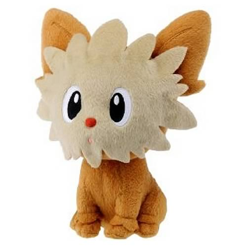 Pokemon Best Wishes 6-Inch Lillipup Plush
