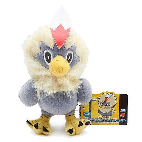 Pokemon Best Wishes 6-Inch Rufflet Plush