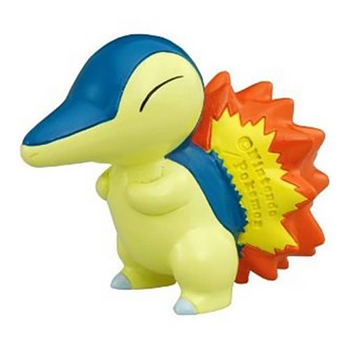Pokemon Monster Collection M-074 Cyndaquil Mini-Figure