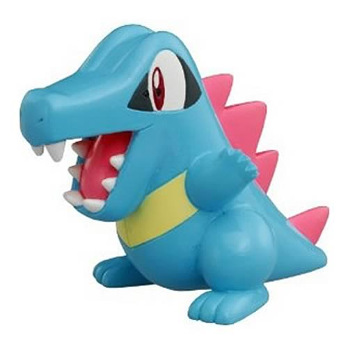 Pokemon Monster Collection M-077 Totodile Mini-Figure
