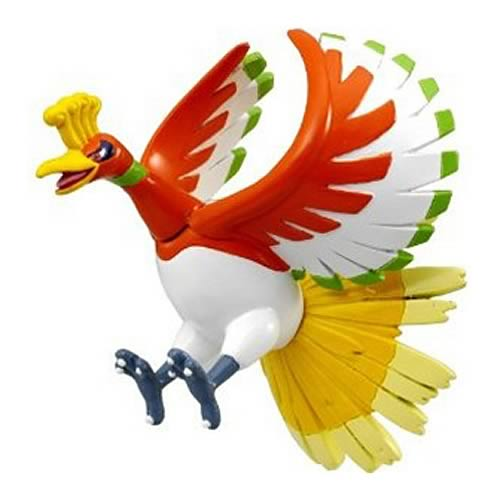 Pokemon Monster Collection M-082 Ho-Oh Mini-Figure