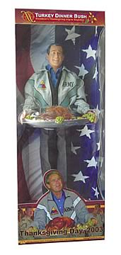Turkey Dinner George W. Bush 12-Inch Figure