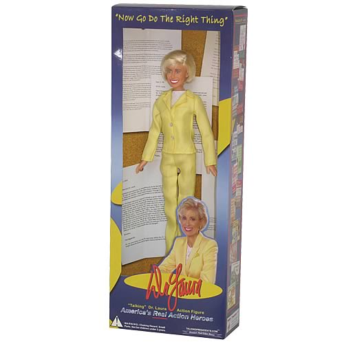 Dr. Laura Talking 11-Inch Action Figure