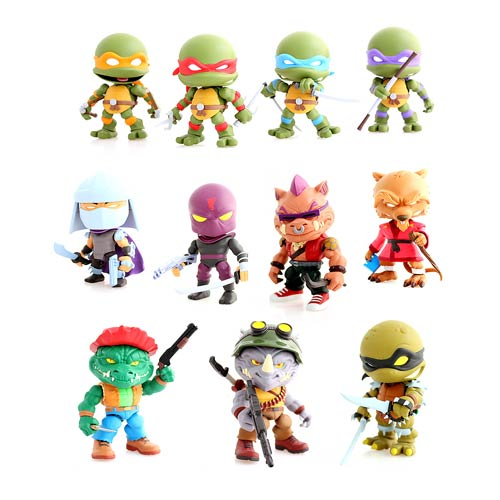 TMNT Wave 2 Random Action Vinyl Figure