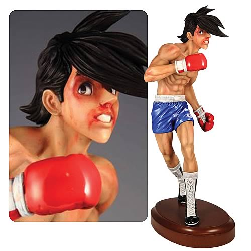 Ashita no Joe Fighting Damage Version Statue