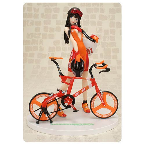 Messenger Girl Suzu Orange Variant 1:7 Scale Statue