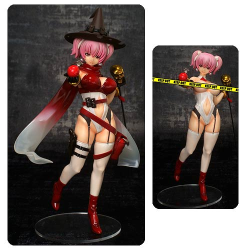 Fairy Tale Figure Villains Red Witch Queen Statue