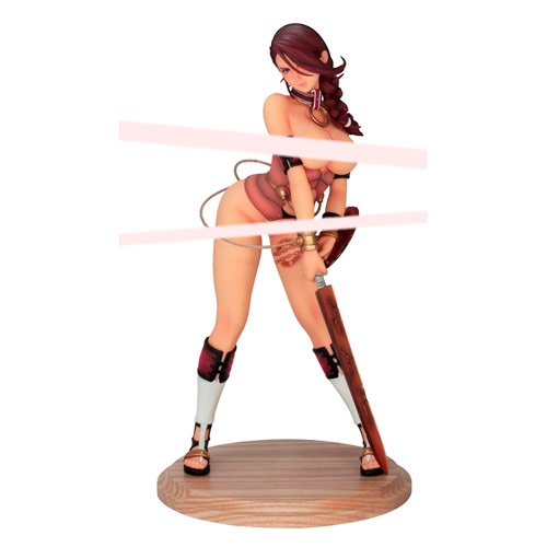 Queen's Blade Rebellion Branwen Statue