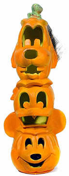 Disney Light-Up Pumpkin Totem