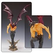 Devilman Hell Gate Regular Version Polystone Statue
