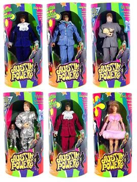 Austin Powers 10in Figure Asst