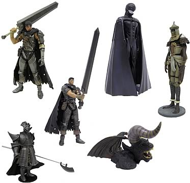 Berserk Mini PVC Series 3 Set