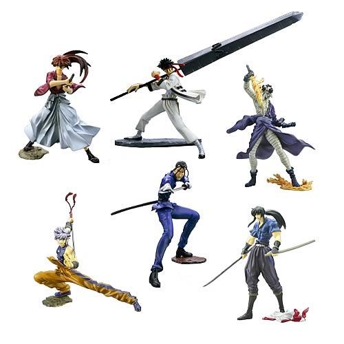 SIF Rurouni Kenshin Best Collection Figures Display Box