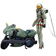 Bubblegum Crisis Linna with Motoslave Figure