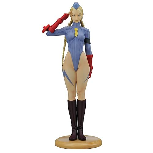 Capcom Girls Collection Street Fighter Cammy Statue