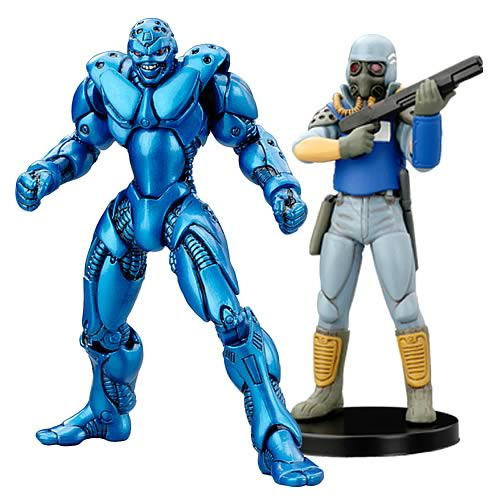 Bubblegum Crisis Booma and AD Police Figures