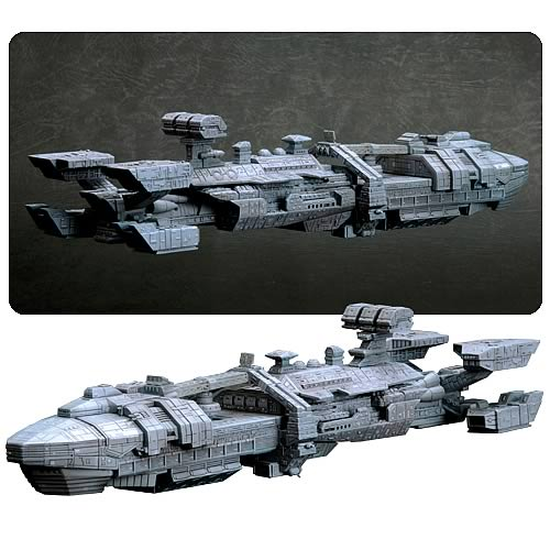 Starship Troopers Rodger Young Spaceship Pewter Replica