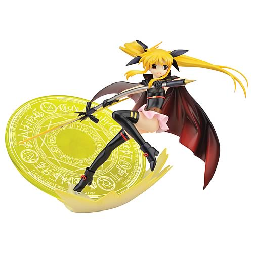 SIF Magical Girl Lyrical Nanoha Movie Fate Testarossa Statue